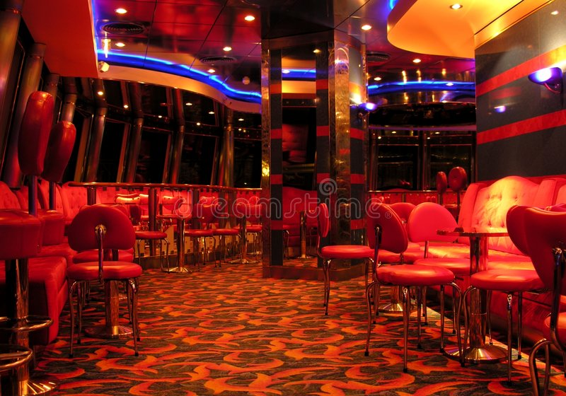 Nachtclub No.3 stock afbeelding