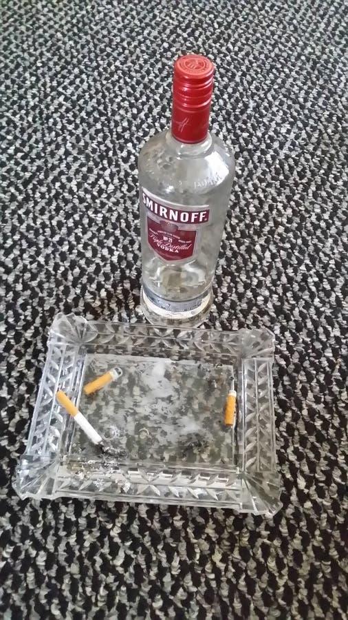 "Nachtflasche"" stockfoto"