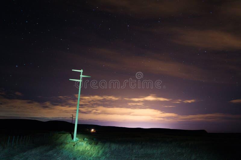 Nachtfoto gemacht am Patagonia Argentinien lizenzfreies stockfoto
