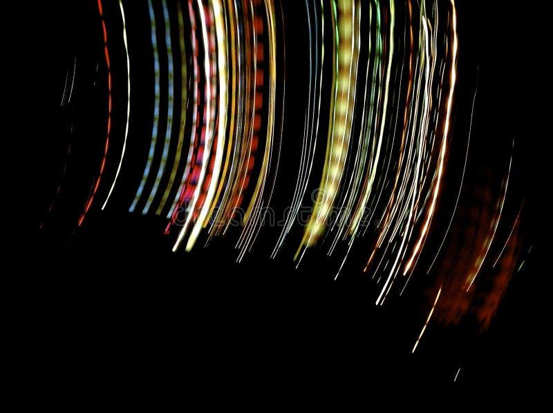 Nachthelle Malerei lizenzfreies stockbild