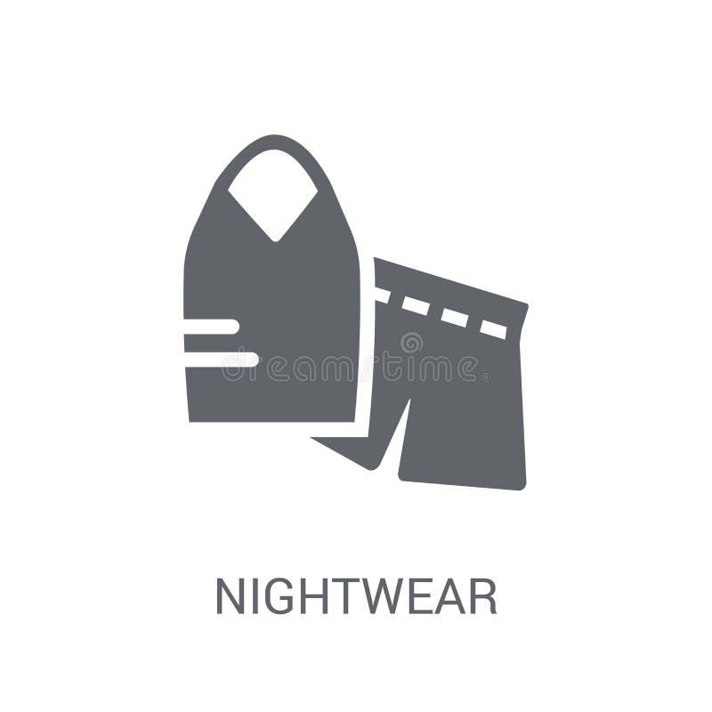 Nachthemdenpictogram  vector illustratie