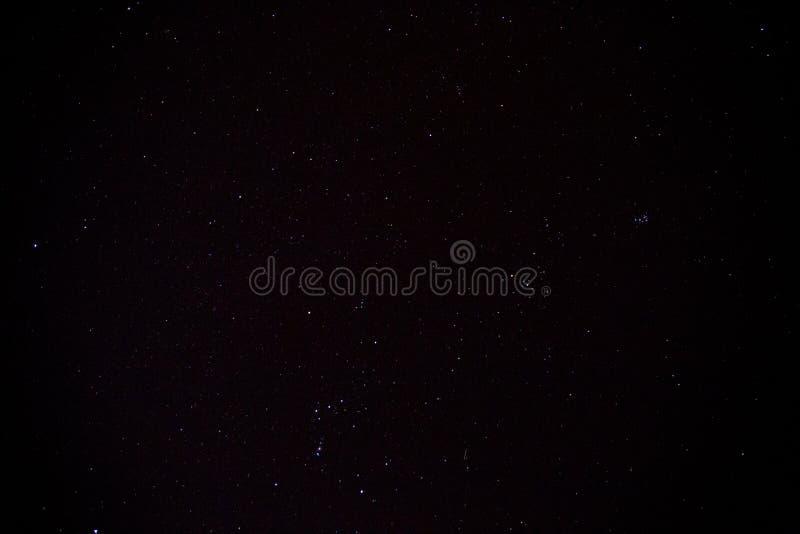 Nachthemel met sterren royalty-vrije stock foto's