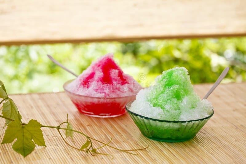 Nachtisch des Sommers in Japan lizenzfreies stockbild
