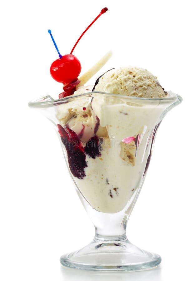 Nachtisch - Eiscreme lizenzfreie stockfotos