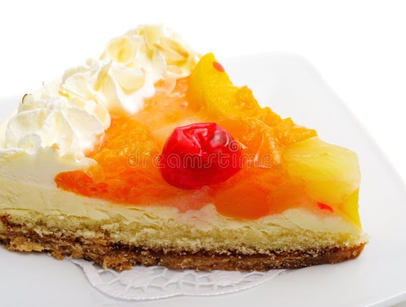 Nachtisch - Frucht-Kuchen lizenzfreies stockfoto