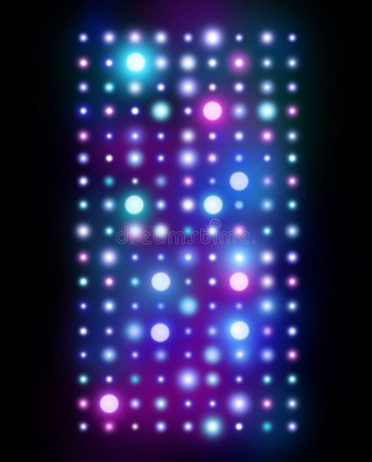 Nachtklub-Hintergrund lizenzfreies stockfoto