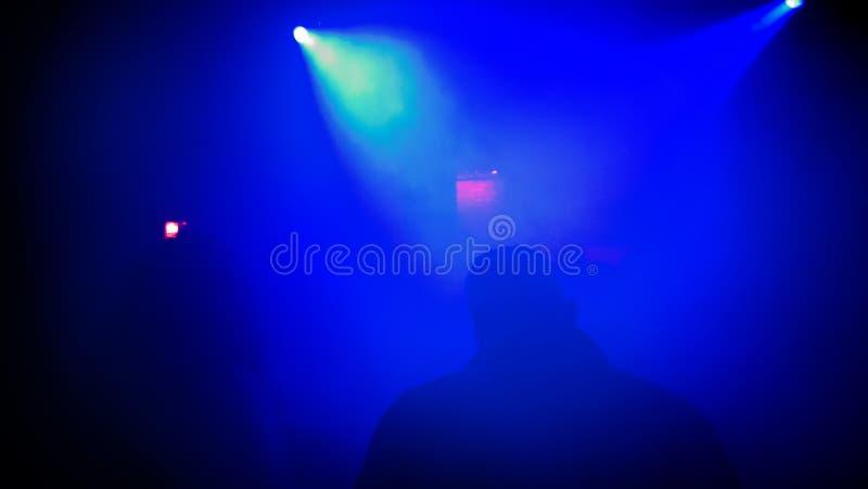 Nachtklub-Szene stockbild