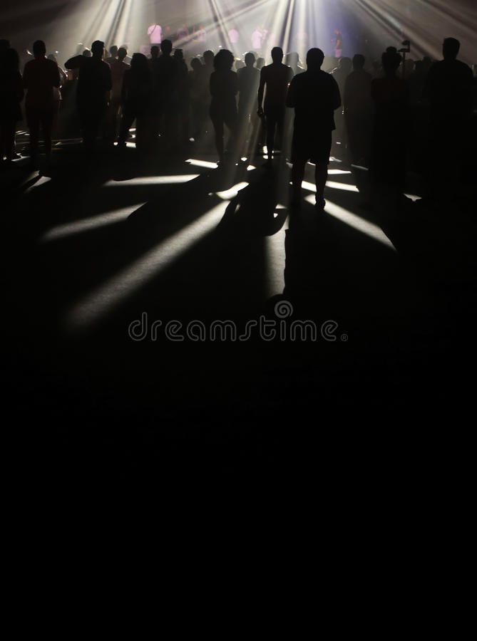 nachtleben lizenzfreies stockfoto