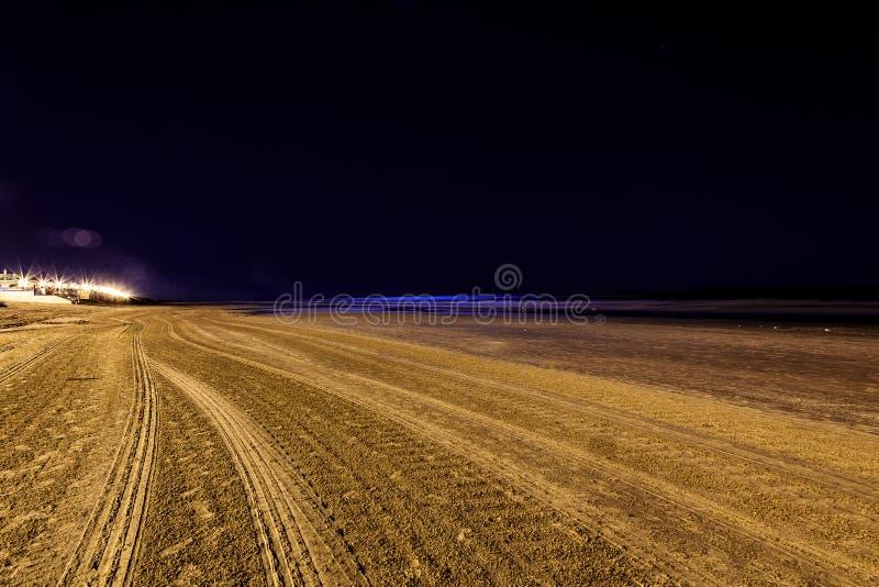 Nachtleben in Montevideo, Uruguay stockfotos