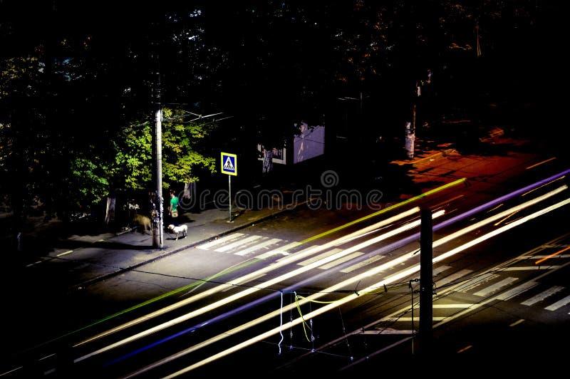Nachtlicht lizenzfreie stockbilder