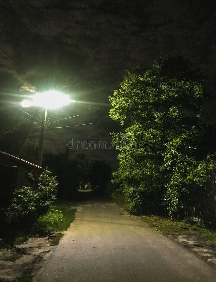 Nachtlichten royalty-vrije stock foto's