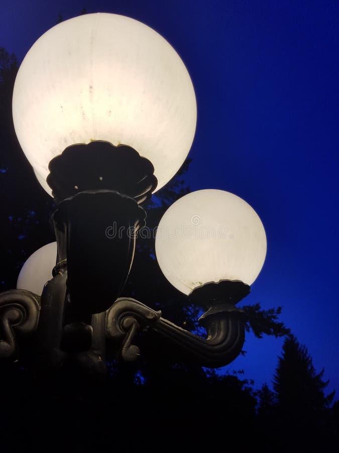 Nachtlichter lizenzfreie stockfotografie