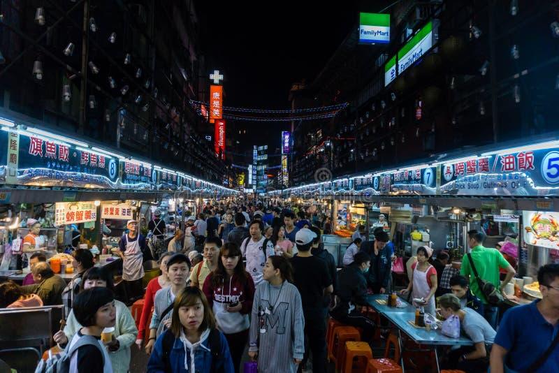 Nachtmarkt stockbild