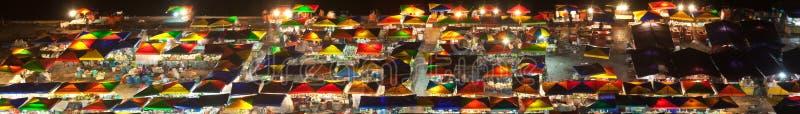 Nachtmarkt bei Kota Kinabalu, Malaysia lizenzfreies stockbild