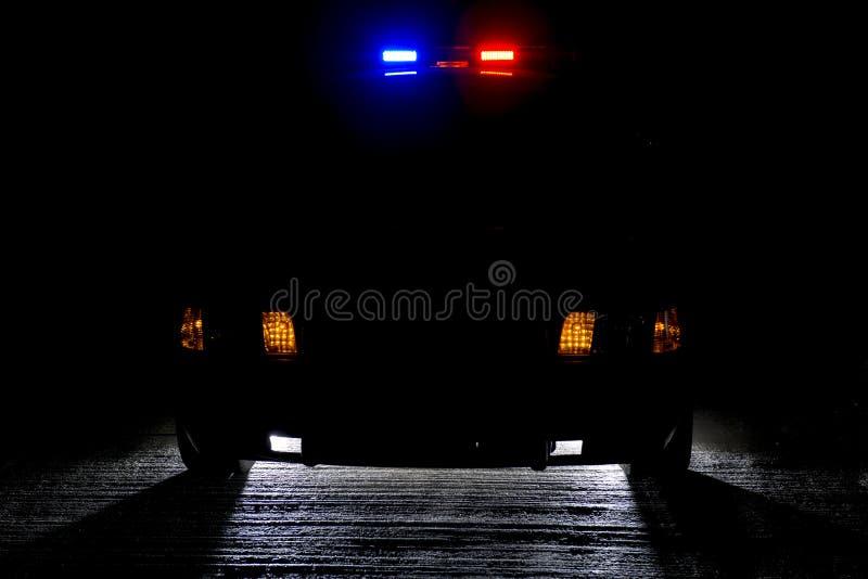 Nachtpatrouille Stock Afbeeldingen