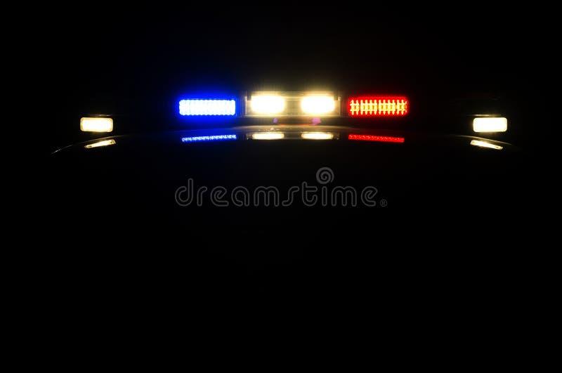 Nachtpatrouille stock foto's