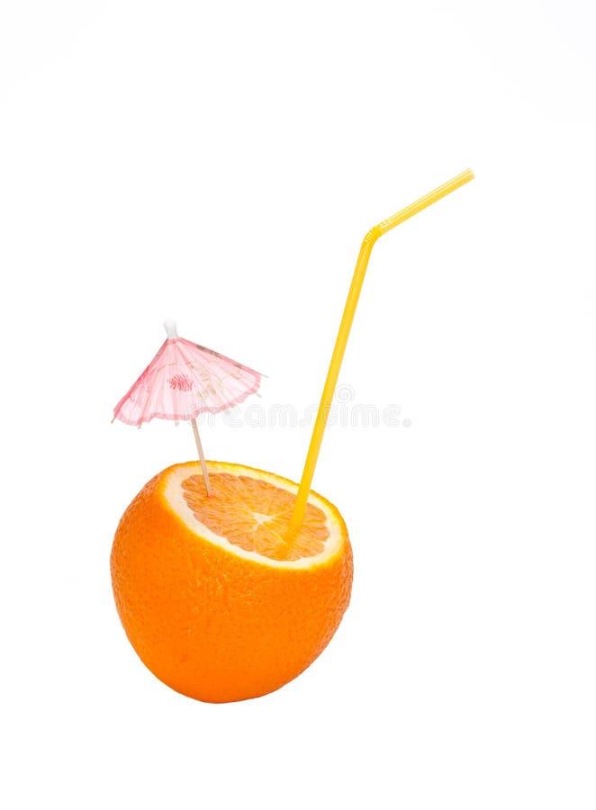 nacięcie zrobił pomarańcze zdjęcie royalty free