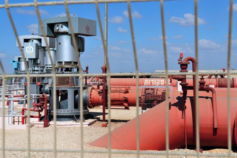 Nacional Água Empresa de Israel - Mekorot- (fontes) fotos de stock royalty free
