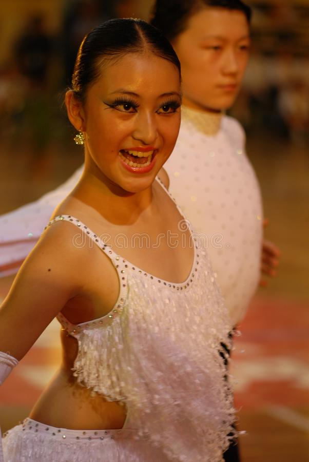 Nacional de la danza del estándar internacional de Efervescencia-China Nanchang abierto fotografía de archivo