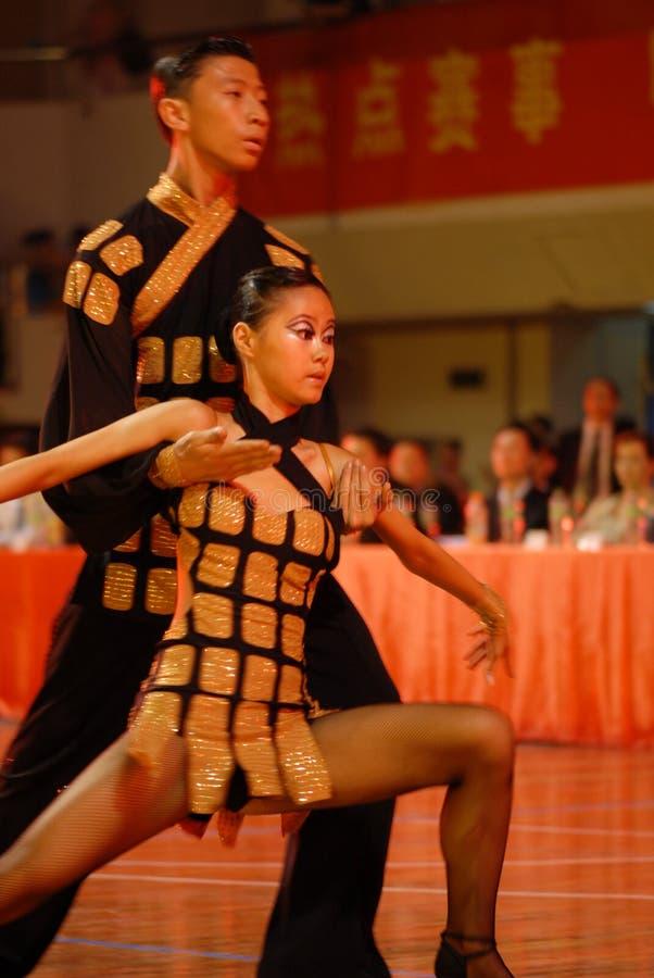 Nacional de la danza del estándar internacional de Proyecto-China Nanchang abierto imagenes de archivo