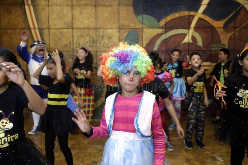 Фестиваль Nacional de Teatro Infantil Inauguracià ³ n de segundo стоковое фото rf