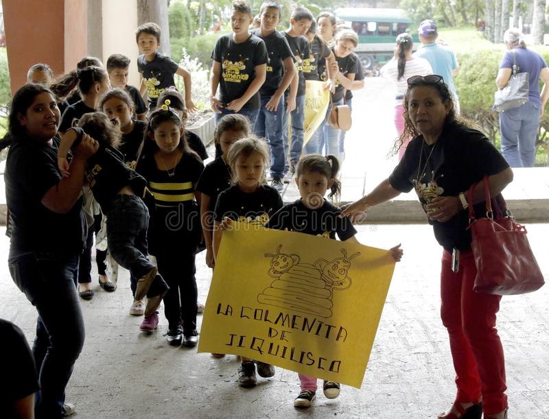 Фестиваль Nacional de Teatro Infantil Inauguracià ³ n de segundo стоковая фотография