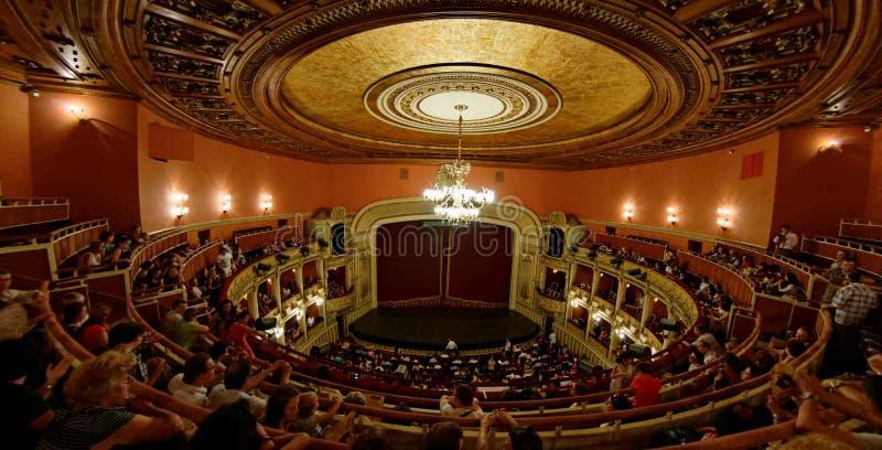 Nacional Opera de Bucareste imagem de stock