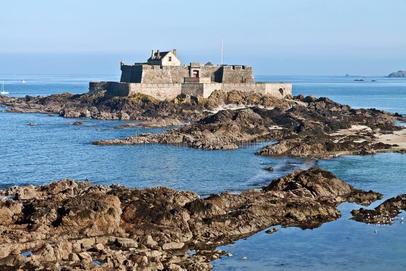 Nacional Saint Malo do forte fotografia de stock royalty free