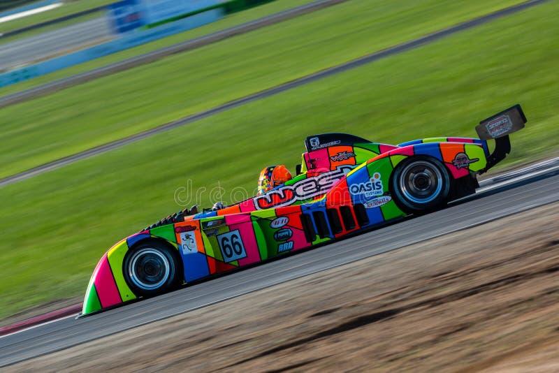 Nacionales de Shannons, alrededor de 3, Winton Motor Raceway 10-12 de junio foto de archivo libre de regalías