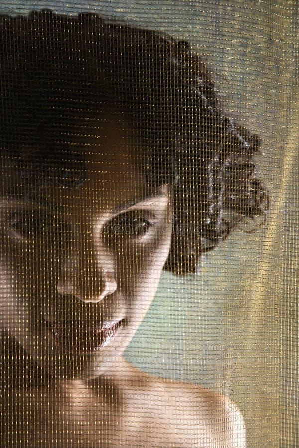 Nackte Frau. lizenzfreies stockbild