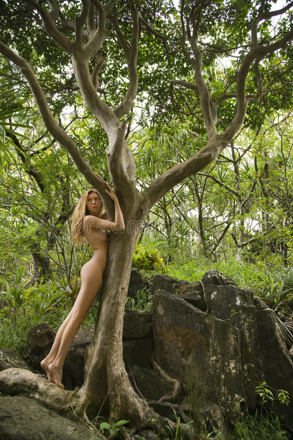 Nackte nackte Natur