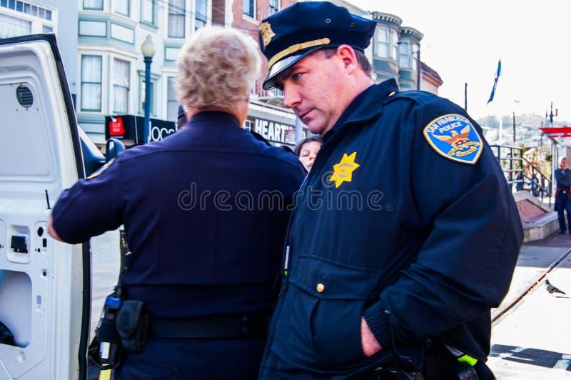 Nackte Protestierender lizenzfreies stockfoto