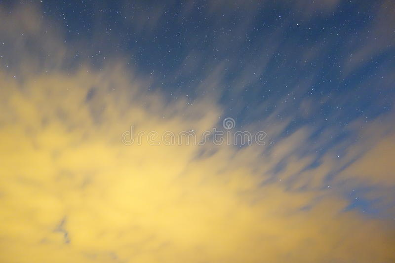Nackter Himmel lizenzfreie stockfotografie
