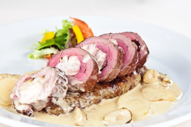 naco de carne da carne de porco fotos de stock