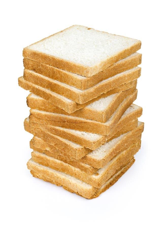 Naco de pão isolado imagens de stock royalty free