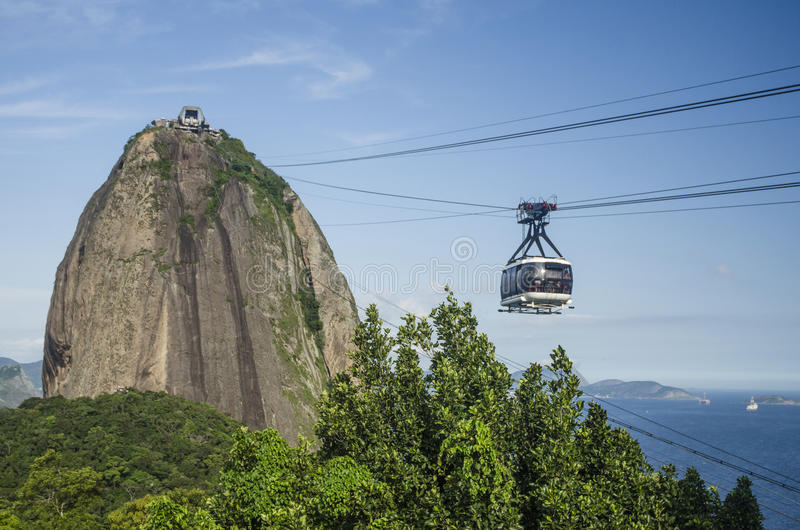 Naco do açúcar, Rio de Janeiro fotos de stock royalty free