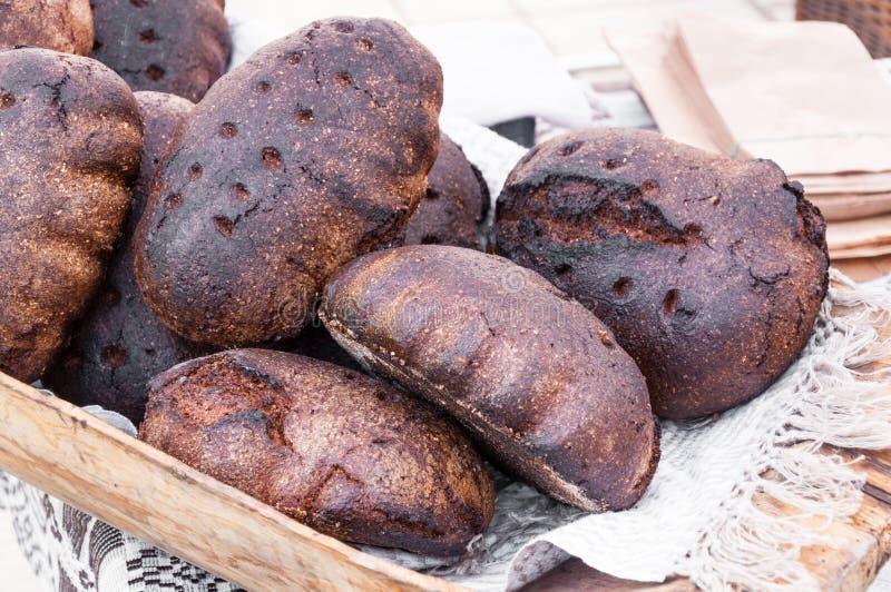 Nacos do pão foto de stock