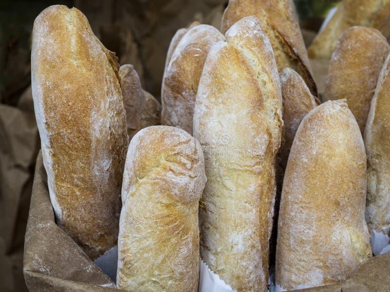 Nacos do pão francês fotos de stock royalty free