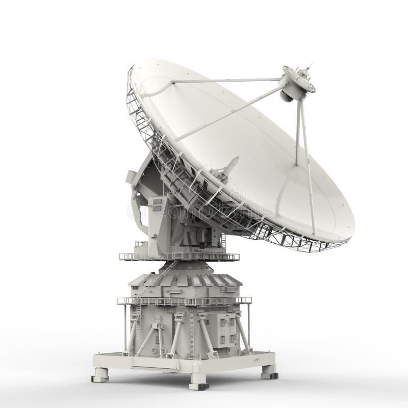naczynie ilustracja odizolowywał wektorowego satelita biel obrazy royalty free