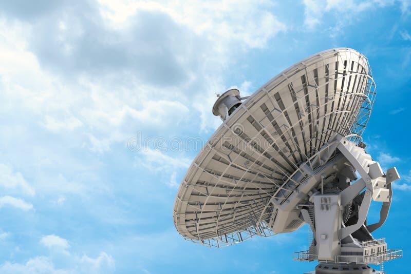 naczynie ilustracja odizolowywał wektorowego satelita biel zdjęcia stock