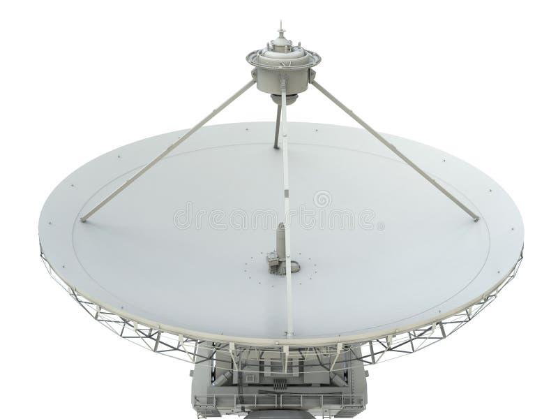 naczynie ilustracja odizolowywał wektorowego satelita biel fotografia royalty free