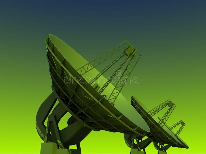 naczynie satelita ilustracja wektor