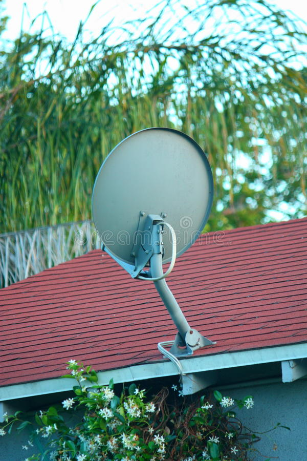 naczynie satelitarny tv obraz royalty free