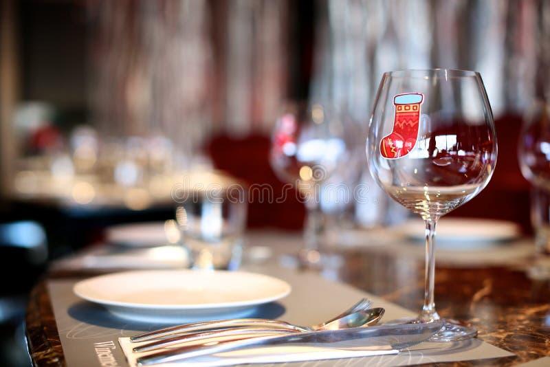Naczynie z wina szkłem obrazy royalty free