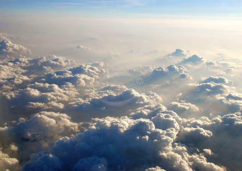 nad chmury obrazy stock