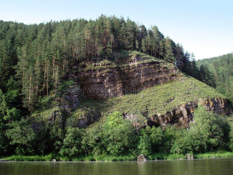Download Nad falezy rzeka zdjęcie stock. Obraz złożonej z above - 7737538