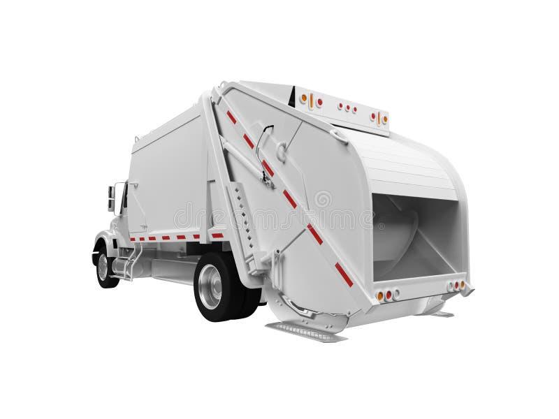 nad grata ciężarówki biel ilustracja wektor