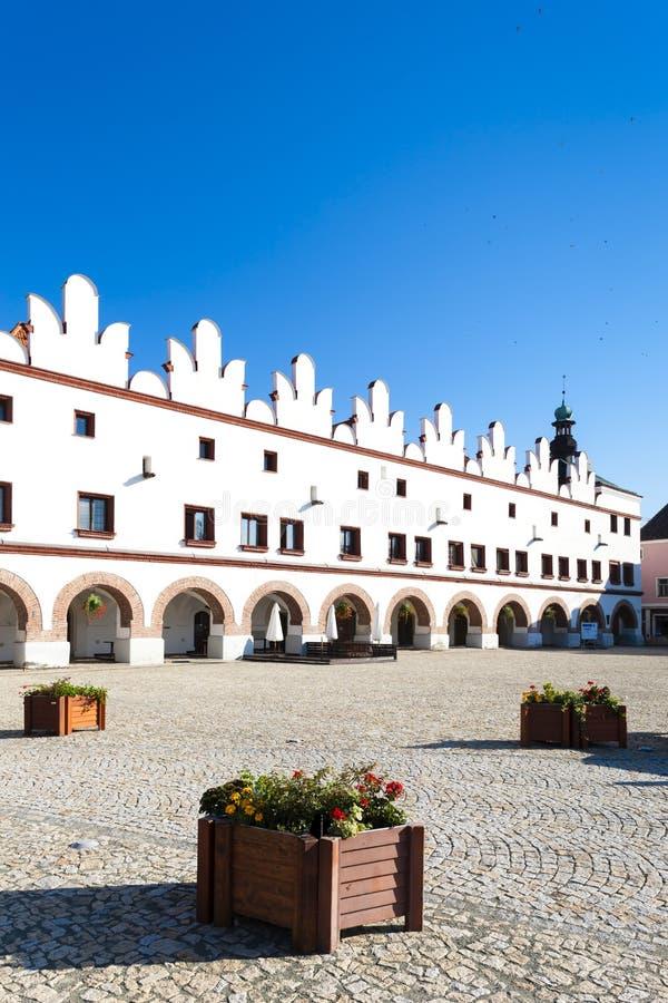 Nad Metuji, Tsjechische republiek van Novemesto royalty-vrije stock foto's