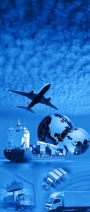 nad niebem samolotowy błękit obrazy stock