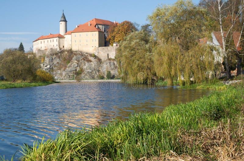 NAD Sazavou, Τσεχία Ledec στοκ φωτογραφία με δικαίωμα ελεύθερης χρήσης